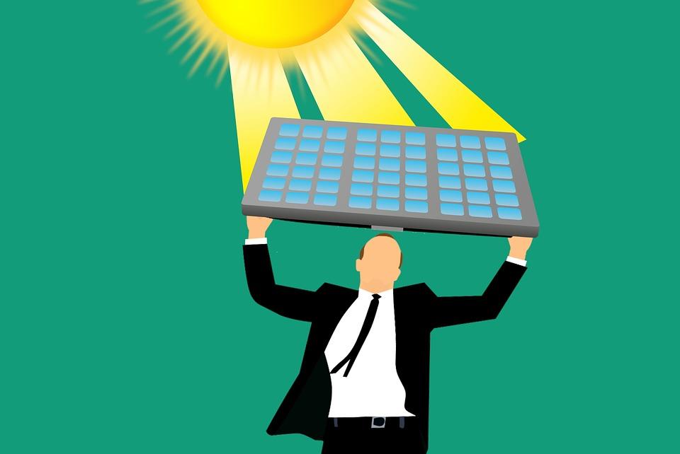 Saulės elektrinės juridiniams asmenims