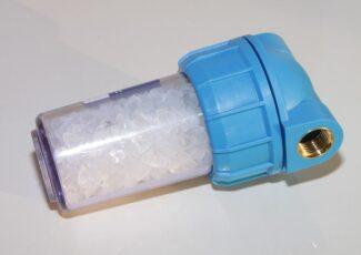 Vandens minkštinimo druska filtrams